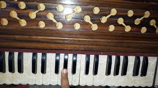 how to play vichola song by kamal khaira on harmonium