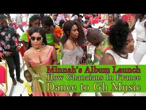 How Ghanaians in Europe dance to Ghana music-Minnah Album Launch