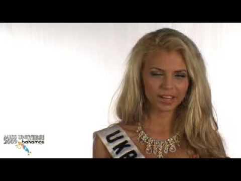 Miss Ukraine Universe 2009 Interview