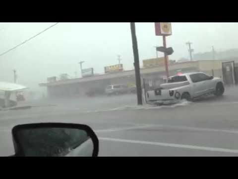Bad weather in San Antonio Tx