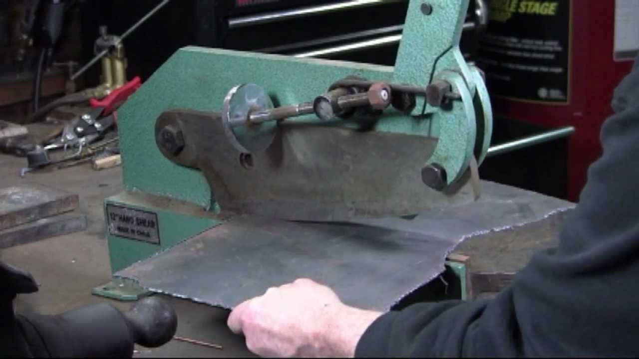 Metal Cutting Bench Cutters Youtube