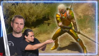 HEMA instructors REACT to The Witcher 3 | Experts React
