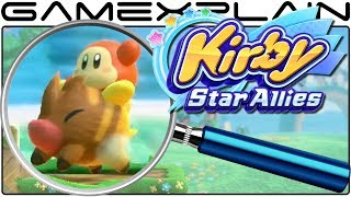 Kirby: Star Allies ANALYSIS - Kirby's Friends Trailer (Secrets & Hidden Details)