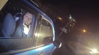 Startling video footage of police shooting suspect in Kentucky