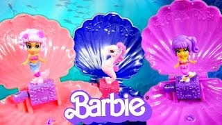 NEW Barbie The Pearl Princess Mermaid Doll Bracelets 2014 Review By Disney Cars Toy Club
