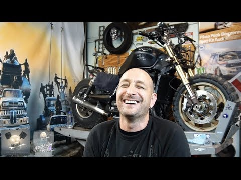 TRIUMPH ROCKET NEW EXHAUST Project Part ./ 🚀Twitch-Live🚀