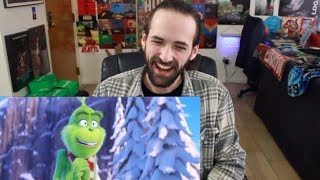 THE GRINCH - Official TRAILER REACTION & REVIEW!!!
