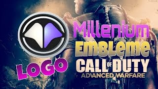 [TuTo] Emblem Advanced Warfare ► Logo team Millenium ◄