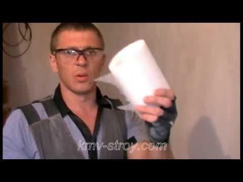 видео: подготовка гипсокартоновых швов