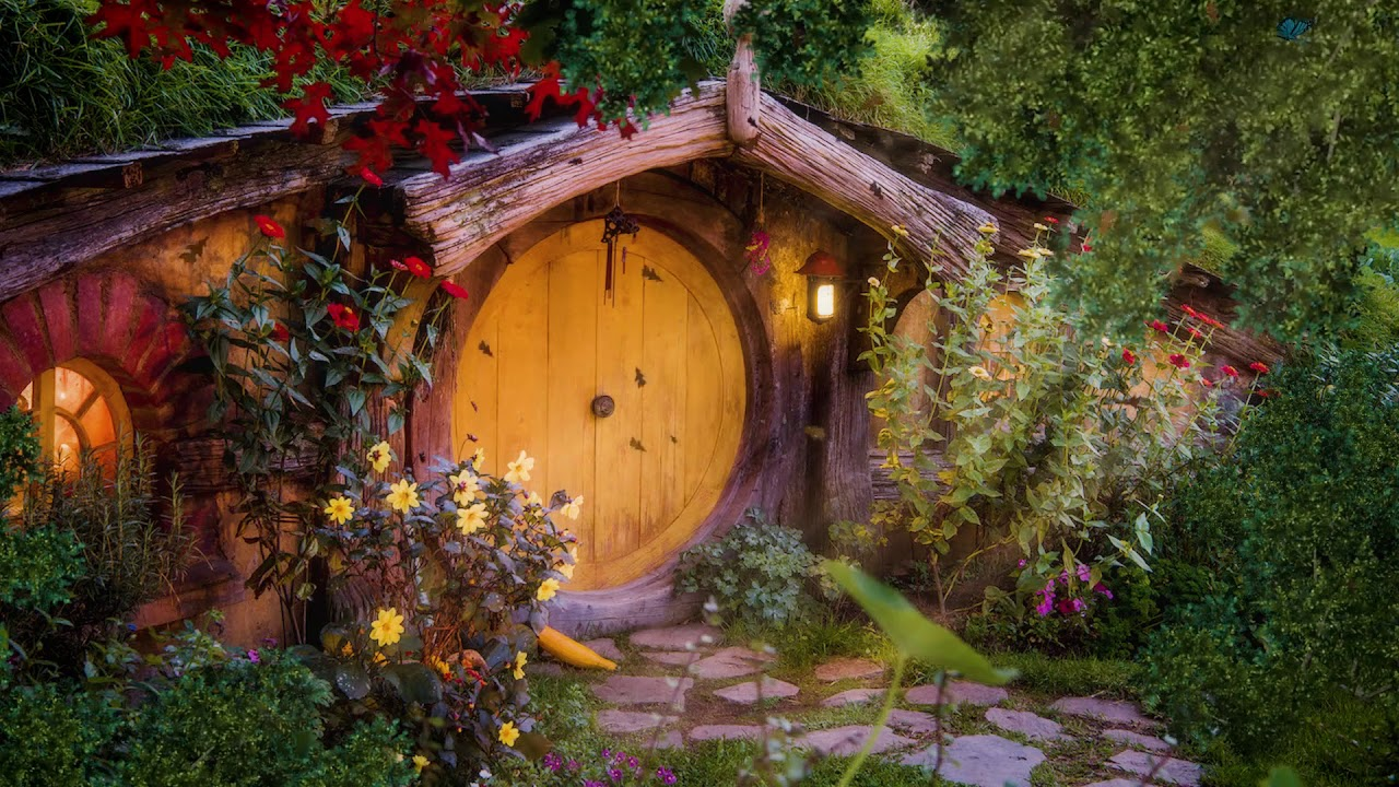 House in The Shire [ASMR] ◎ Lord of the Rings & The Hobbit ◎ Fantasy Ambience / Nature sounds