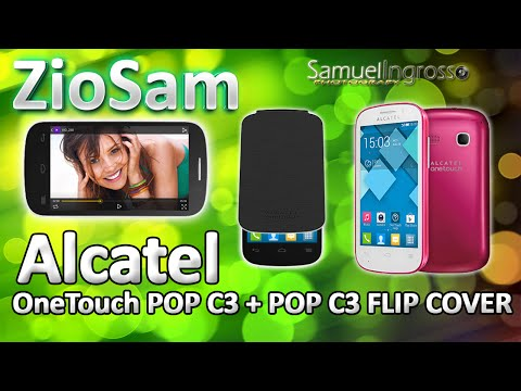 Alcatel OneTouch POP C3 + POP C3 Flip Cover - Recensione & Unboxing