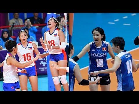 Philippines Vs Hongkong Volleyball Updates - Asian Games 2018