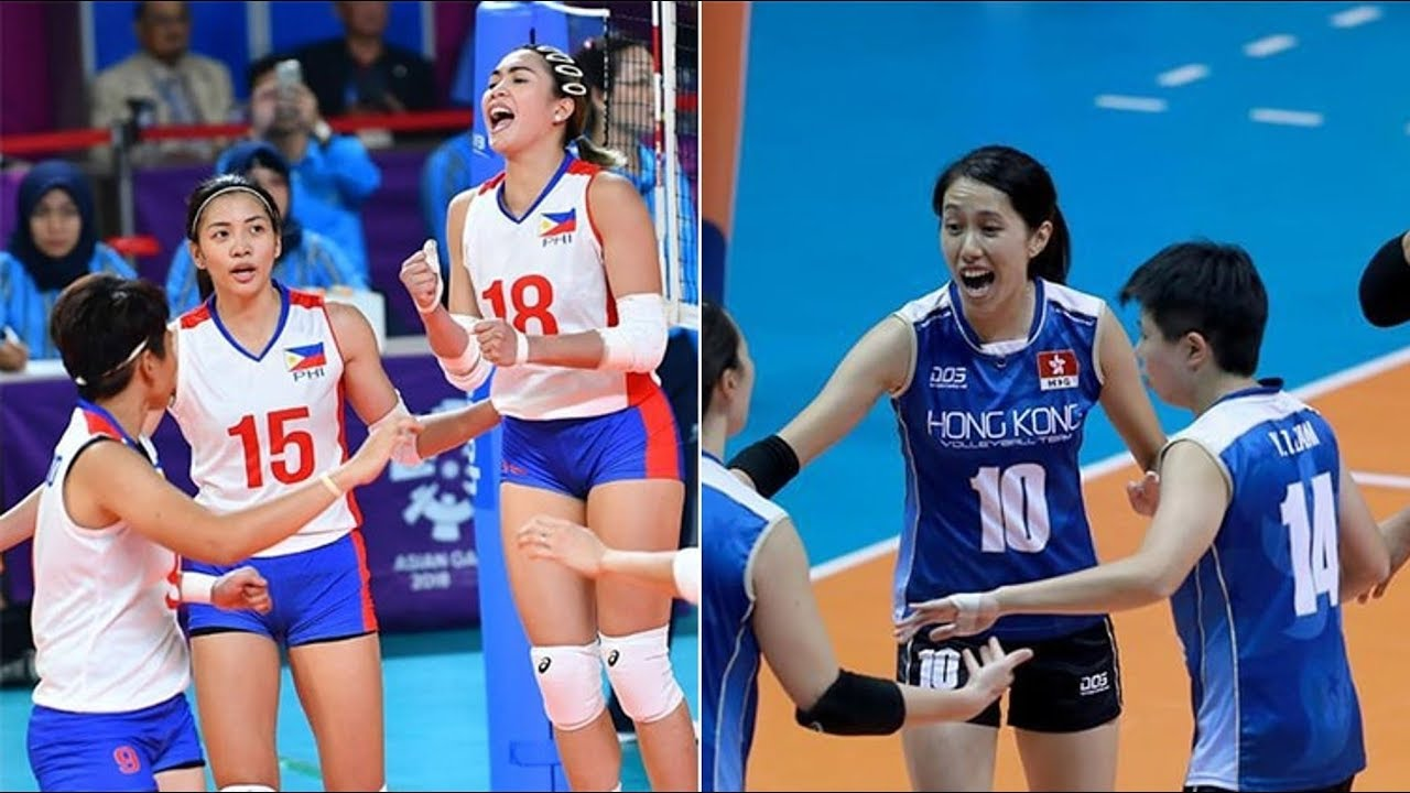 Philippines Vs Hongkong Volleyball Updates Asian Games 2018 Youtube