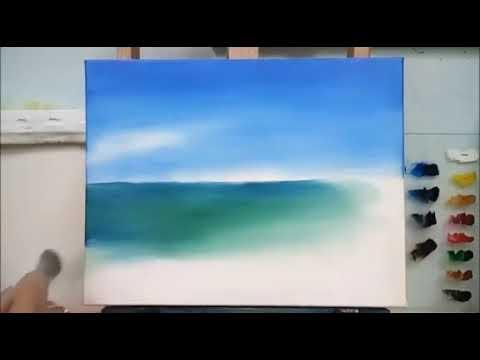 Yağlı Boya Deniz Nasıl Yapılır Youtube