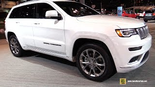 2019 Jeep Grand Cherokee Summit - Exterior and Interior Walkaround - 2019 Chicago Auto Show