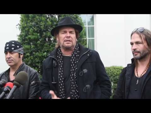 MY INTERVIEW WITH MANA AT THE WHITE HOUSE IN SPANISH