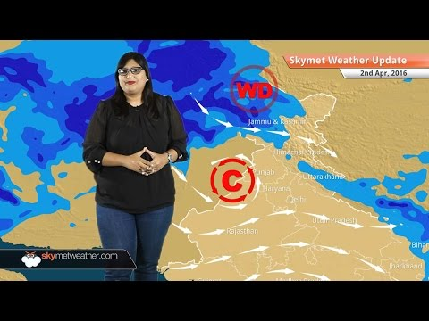 Weather Forecast for April 2: Rain in Kashmir and Northeast India, heat wave in Maharashtra