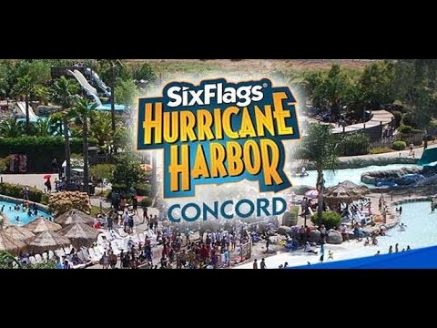 Six Flags Hurricane Harbor Concord! - YouTube