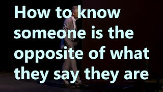 Video Jordan Peterson - How to know someone is the opposite of what they say they are download MP3, 3GP, MP4, WEBM, AVI, FLV Juli 2018