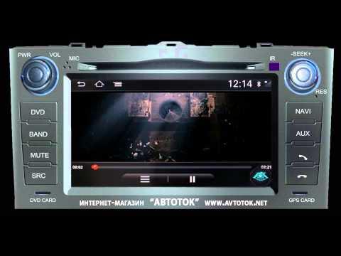 Штатная магнитола для Toyota AURIS 2008 2011 ANDROID WI FI 3G S150