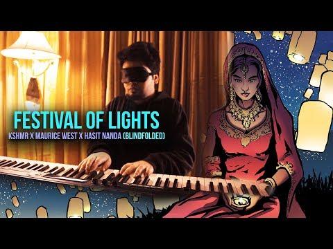 KSHMR & Maurice West - Festival of Lights (BLINDFOLDED PIANO)