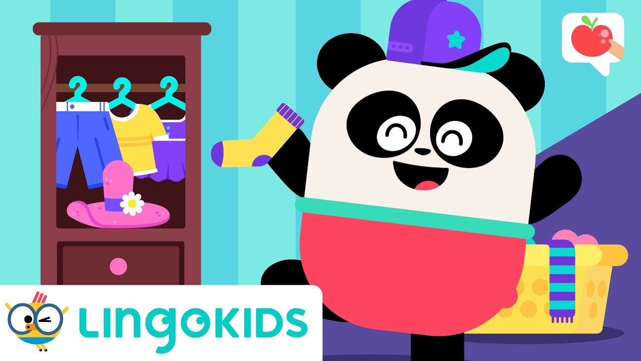Learn About CLOTHES 👔👗   VOCABULARY, SONGS and GAMES   Lingokids