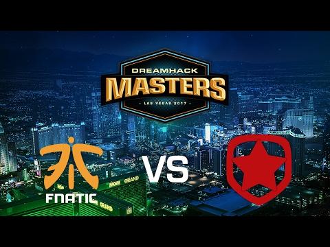 Fnatic vs. Gambit Gaming - Inferno - Group B - DreamHack Masters Las Vegas 2017