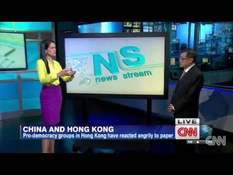 Alarm in Hong Kong at Chinese white paper affirming Beijing control   CNN com