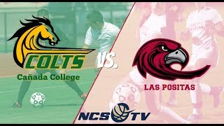 Cañada vs Las Positas College Men's Soccer Playoff LIVE 11/18/17