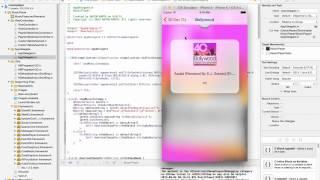 Music Player App Demo using Apple Api