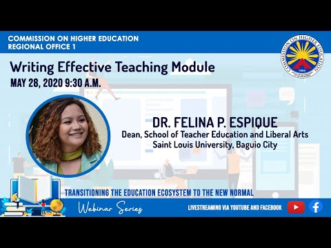 Writing Effective Teaching Module