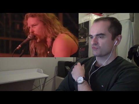 Metallica Creeping Death Moscow 1991 Reaction
