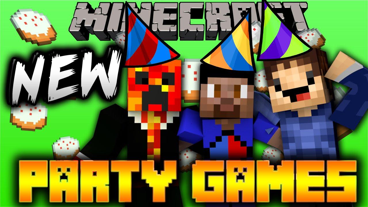 Minecraft PARTY #16 'NEW GAMES!' with Vikkstar, Woofless & Preston