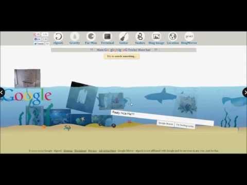 [NEW] 8 Google TRICKS magic Google [ Loco | Upside Down | Underwater | Gravity | Pac-Man | Terminal]