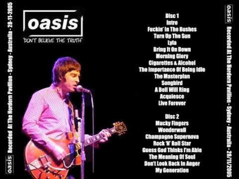Oasis Download Sydney 2005 MP3