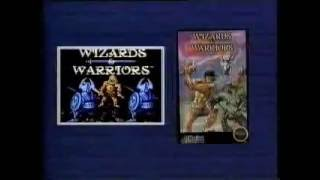 Nintendo NES - Wizards & Warriors & Ironsword Wizards & Warriors II from Acclaim (1989)