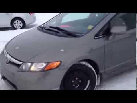 USED 2008 Honda Civic | Winter & Summer Tires | Minutes from Calgary | Davis Chev | Stock#113034