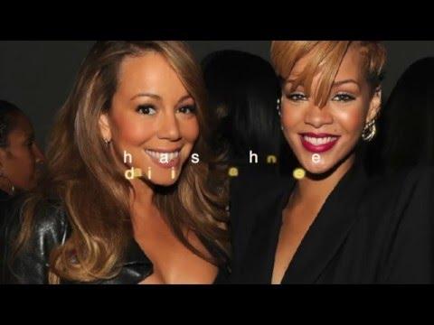 Rihanna talking about Mariah Carey