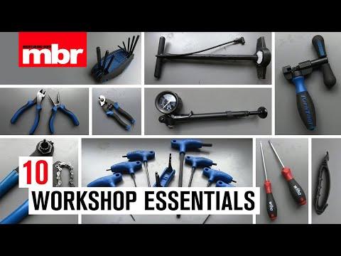 10 Home Workshop Essentials | Mountain Bike Rider