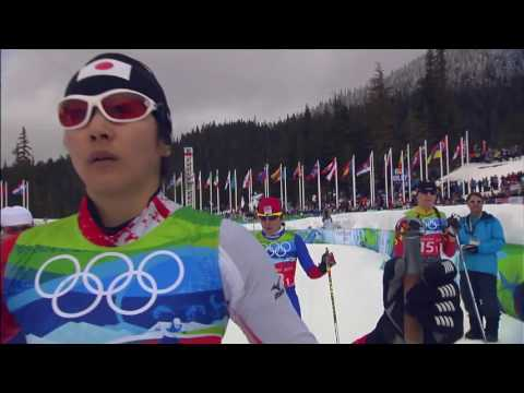 Ladies 4x5km Cross Country Skiing Relay   Full Event   Vancouver 2010 Winter Olympics