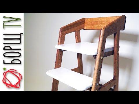 Технология производства мебели при помощи ЧПУ | Растущий стул из дуба