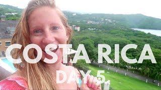 Costa Rica Vacation Vlog Day 5  Playa Hermosa Guanacaste Costa Rica
