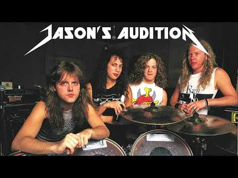 Metallica - Jason Newsted's Bass Audition (1986) [Audio Only]