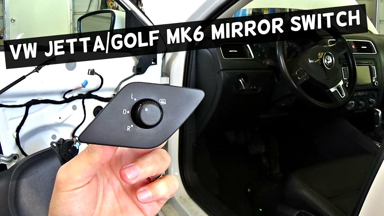 volkswagen jetta mirror adjustment