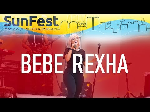 Bebe Rexha - Sunfest 2019 // West Palm Beach, FL // 4K