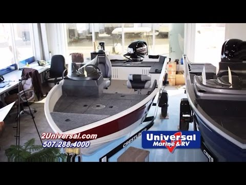 2016 Crestliner Discovery 1650 SC Fishing Boat For Sale Rochester MN