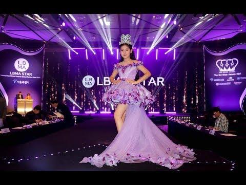 2017 LBMA TOP STAR KIDS MODEL AWARD crown presented by SODONGOO