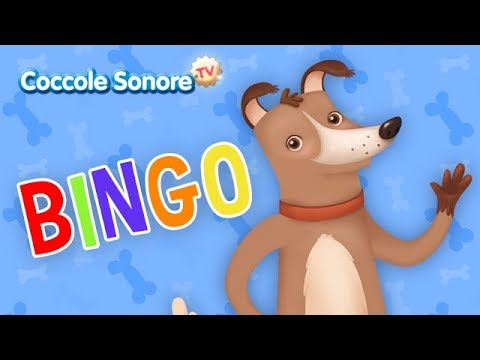 Bingo altre canzoncine canzoni per bambini di coccole for Canzoncini per bambini piccoli