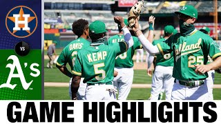 Semien, Chapman homer in A's win vs. Astros | Astros-A's Game Highlights 8/8/20