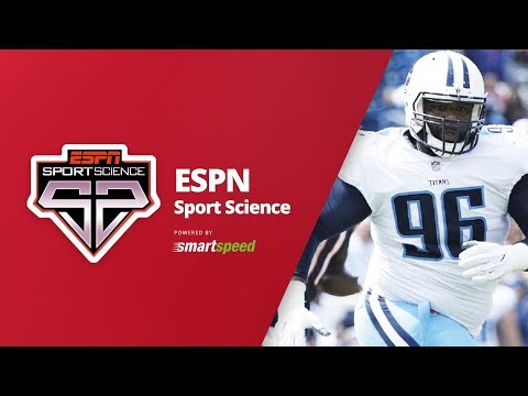 Sport Science Sylvester Williams tested with SMARTSPEED